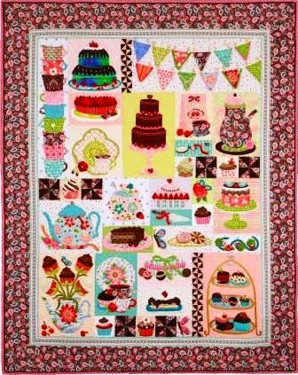 """Raffle Quilt 2012 – """"Quilted Sweets"""""""