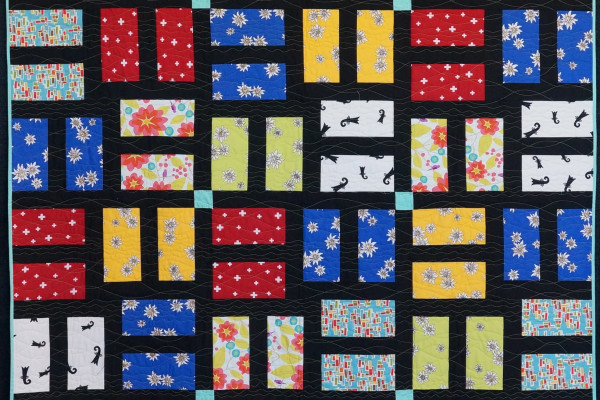 """A Split Second"" by Kate Carter-Cram took First place in the Youth Quilts category"