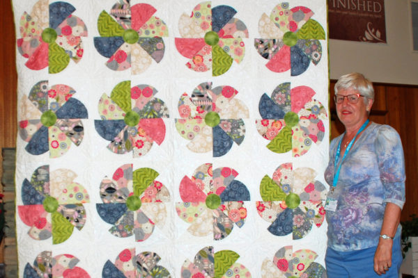 """Fond Memories"" by Aleida Houdyshell & quilted by Teri Hair"