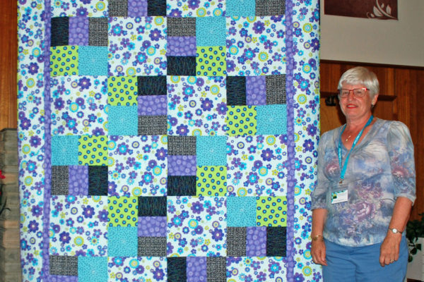 """""""Fond Memories"""" by Aleida Houdyshell & quilted by Teri Hair"""
