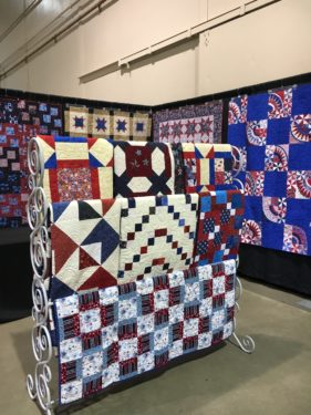 Quilts of Valor at the 2016 BBQ Quilt Show