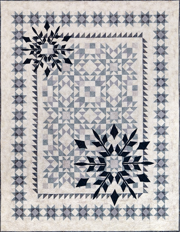 "2017 Raffle Quilt – ""Winter Joy"""