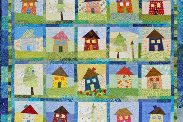 "1st Place - Theme Quilt, ""Seaside Serendipity"", by Kelley Phillips"