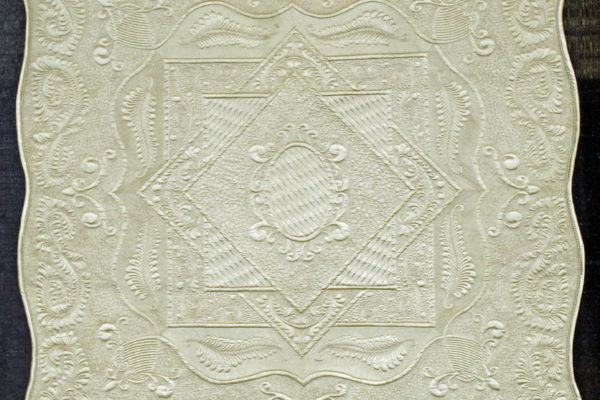 """1st Place - Specialty quilt and Best Track Mounted Machine Quilting, """"Victorian Charm"""" by Sue Bickham"""
