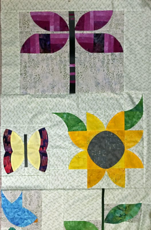 2019 Curved Piecing Schoolhouse - Sample 1