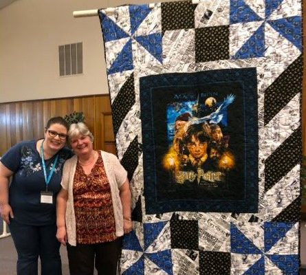 "Terri Curry made ""A Bit of Fantasy"" for a gift to her granddaughter-in-law who is a big Harry Potter fan."