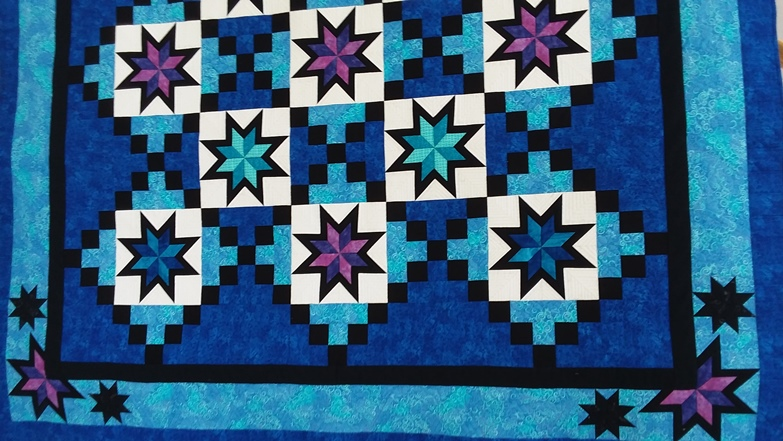 Banded Star Quilt